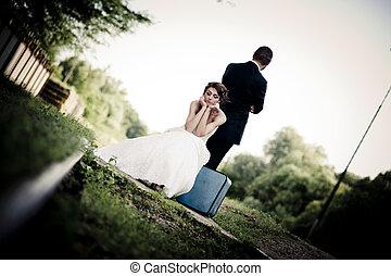 nevěsta i kdy pacholek