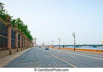 Neva river in St.Petersburg