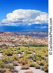 Nevada Desert Thunderstorm