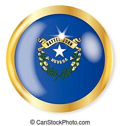 Nevada Flag Button