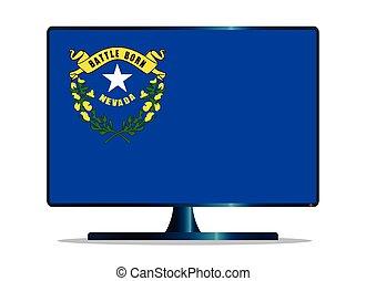 Nevada Flag TV