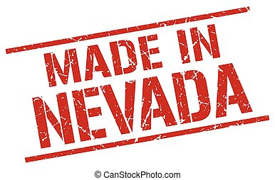 Nevada stamp