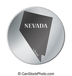 Nevada State Coin