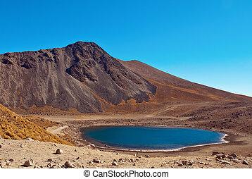 Nevado de Toluca, old Volcano near Toluca Mexico - Nevado de...