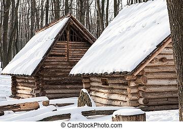 neve, cabanas
