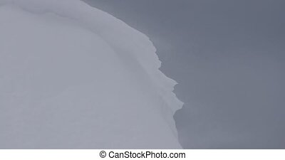 neve, drifting, blizzard
