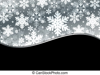 neve, fundo