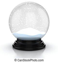neve, vuoto, cupola