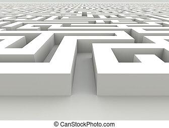 Neverending labyrinth