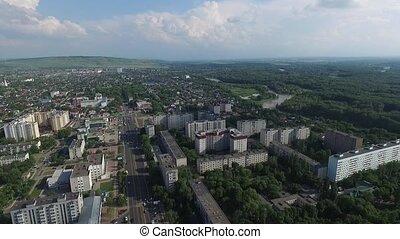 Nevinnomyssk. Russia, the Stavropol region. - Downtown...
