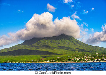 Nevis Volcanic Island