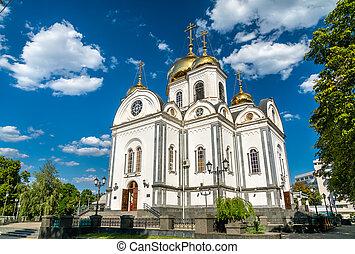 nevsky, cattedrale, krasnodar, russia, alessandro