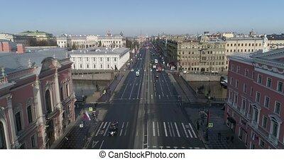 Nevsky prospect, aerial - ??????? ????????, ??????????