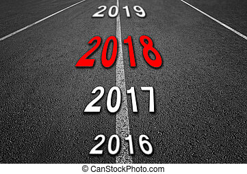 2018 New Year Road