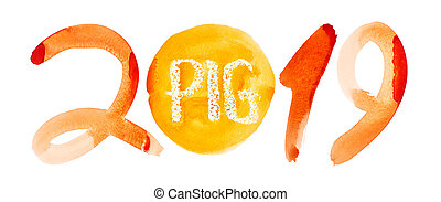 New 2019 Year of The Pig