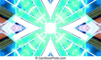 New abstract VJ loop multicolored abstract backdrop CG -...
