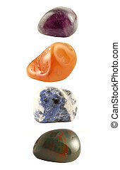 different rock crystals used in new age healing