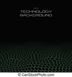 New age of technology in pentagon pattern perspective...