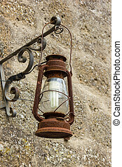 New and old lamp