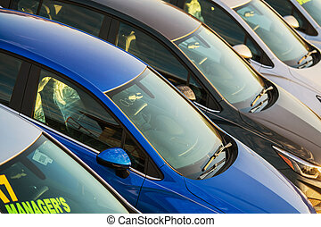 New And Used Car Dealership Stock.