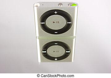 New Apple iPod Shuffle - New gray Apple iPod Shuffle in...
