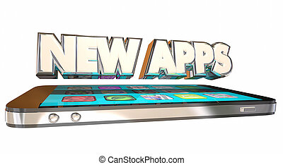 New Apps Applications Software Programs Download Smart Cell Phone