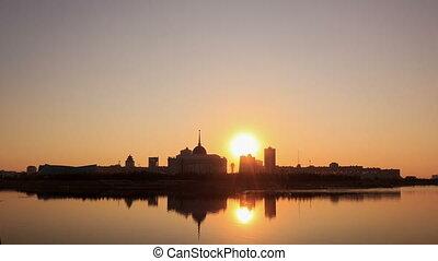New Astana. Presidential Palace. Astana, Kazakhstan.