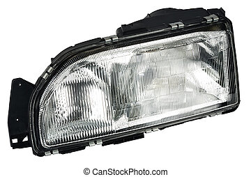 new automobile headlight dipped beam and main beam