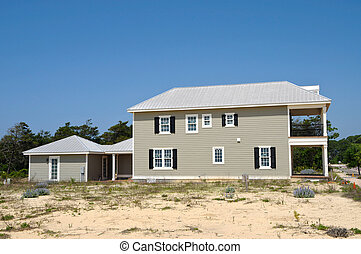 New Beach House in Construction