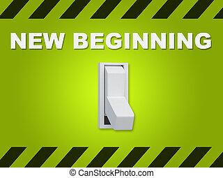 New Beginning concept