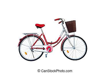 New bike red