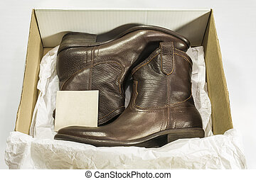 New Boots in Box