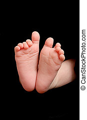 new born baby foot