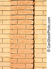 New brick two color wall texture