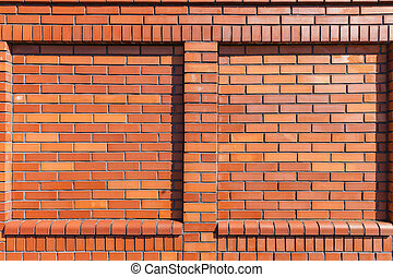 New Brick Wall With Shallow Niches