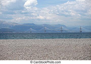 New Bridge Rio - Antirio in Peloponnese, Greece