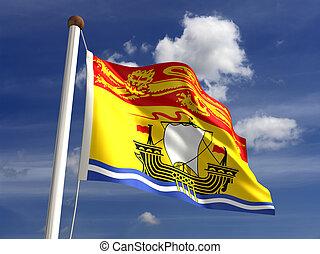 New Brunswick flag Canada