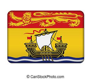 New Brunswick flag icon