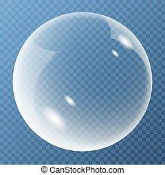 New bubble with glare icon