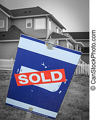 New Build Sold Sign