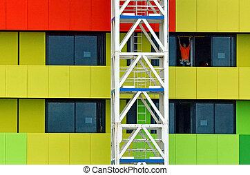 New Building Construction Site - MELBOURNE - APR 10 2014:New...