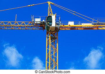 new building crane