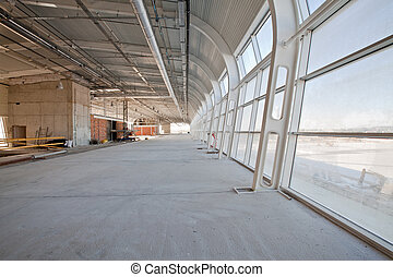 New building of airport