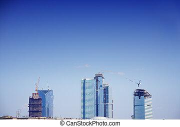New buildings construction