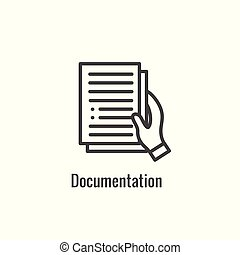 New Business Process Icon - Documentation phase - New...