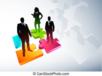 New Business Strategies. Vector illustration.