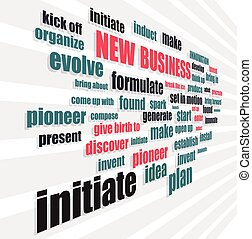 new business words