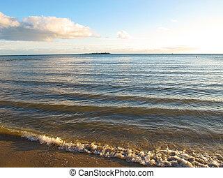 New Caledonia Beach - A beach scene in New Caledonia