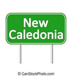 New Caledonia road sign.