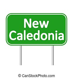 New Caledonia road sign.